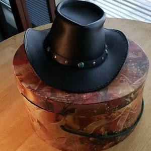 Winfield Leather hat
